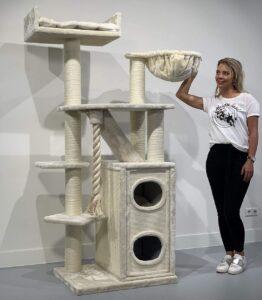 RHRQuality weißer Katzenbaum