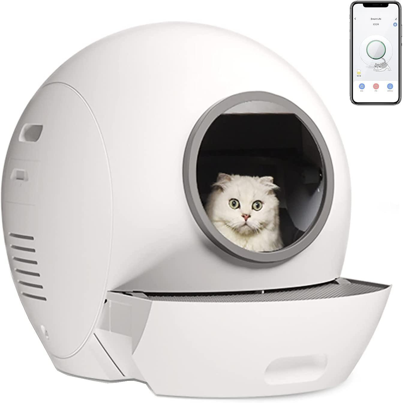 PURROMM automatisches Katzenklo