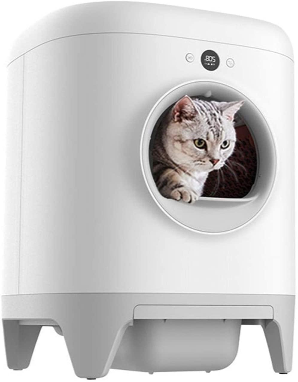 automatisches Katzenklo mit App