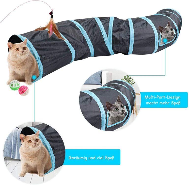 Faltbarer Katzentunnel